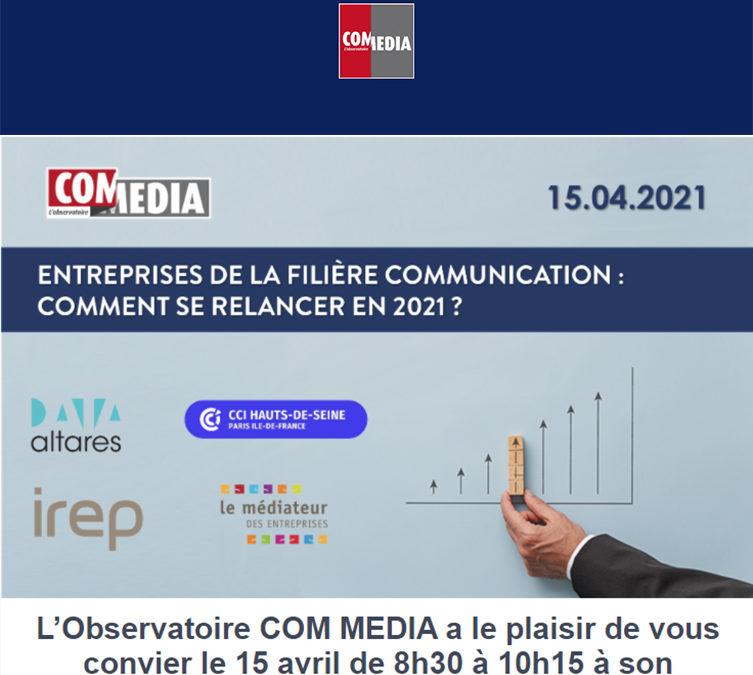 Observatoire COM MEDIA : Ils parlent de nous !